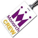 MONARCH AIRLINES 'Portrait' Crew Tag